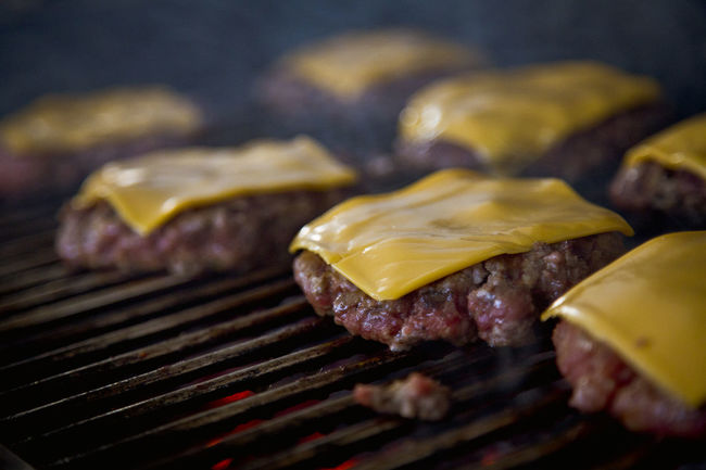 Burger Time. Barbecue BBQ Burgers Cheese Cheese! Close-up Culture Day Detail Focus On Foreground Food Freshness Grill Grilled Meat Indulgence Meat No People Patties Selective Focus Serving Size Still Life Temptation