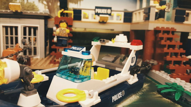 LEGO Lego Minifigures Lego Boat Lego Police Legotoys Lego Toy Toy Toys Showcase March