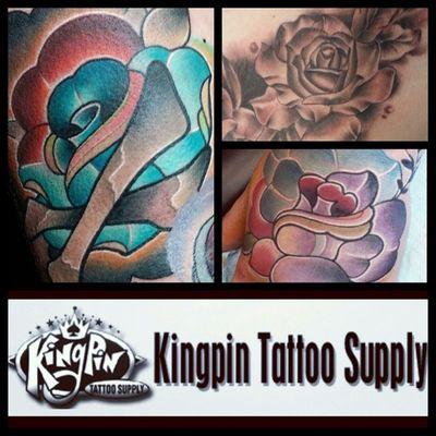 @kingpintattoosupply @kingpintattoosupply @kingpintattoosupply Roses and Roses and more Roses