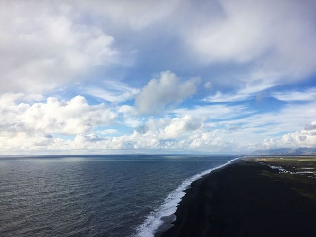 View From My Point Of View Iceland Scenery Coast Ocean