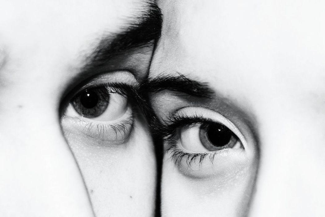Blackandwhite Eyes Sightseeing