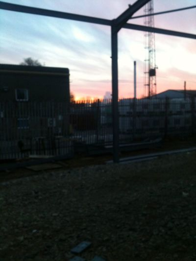 Sun rise at recol