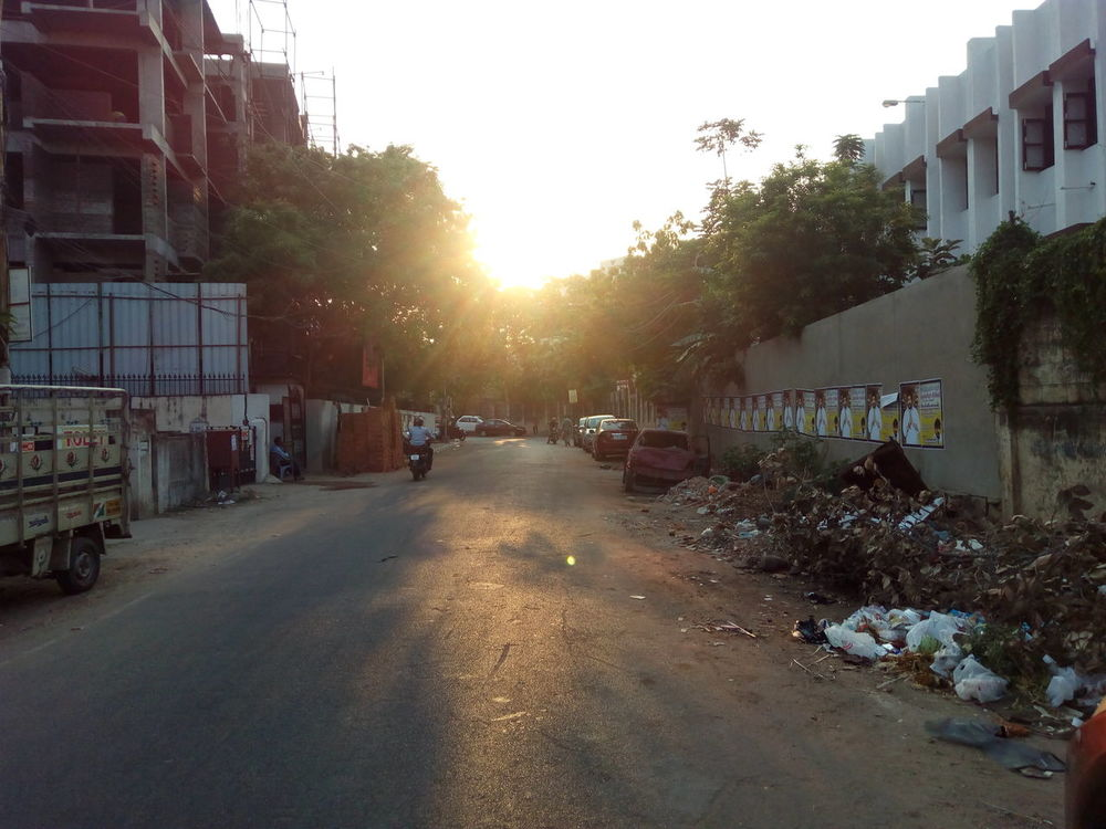 Sunset Outdoors No People Chennaicity