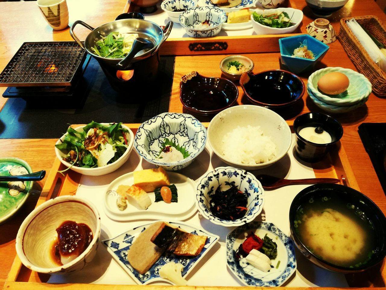Japanese Breakfast Yummy Hot Spring Onsen Ready-to-eat Meal Healthy Eating