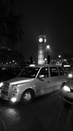 Taxi London Big Ben Night Oldschool Outdoors Streetphotography Streetlife Light England🇬🇧
