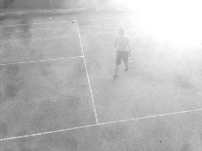 Hanging Out Blackandwhite Tenniscourt Tennis 🎾 Playing Sport