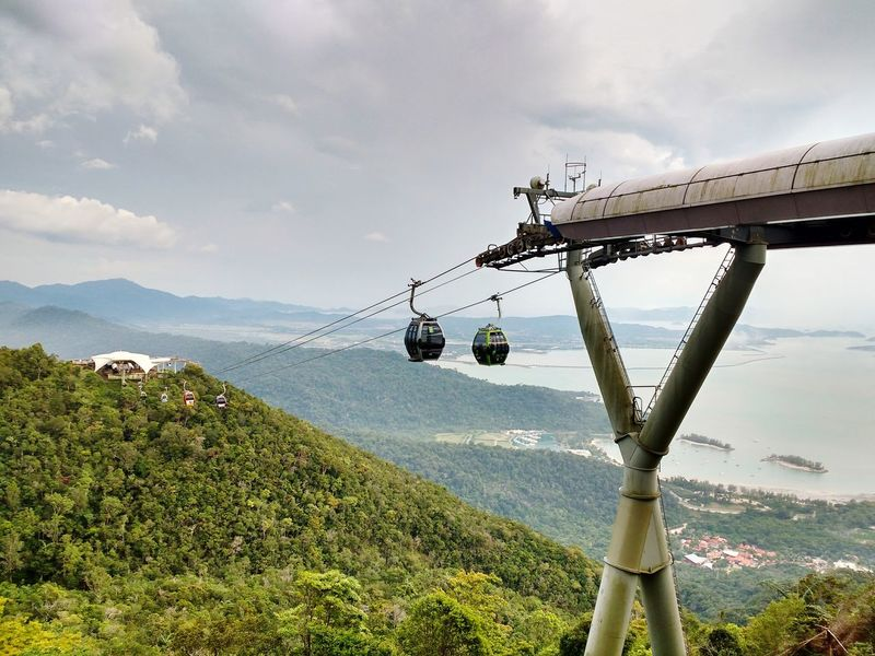 View from Langkawi Skybridge Malaysia Langkawi Langkawi Sky Bridge Langkawi Island Malaysia Travel Photography Travelgram Sky Sea No People Beauty In Nature Outdoors Skybridge Cablecarview Cablecars The Great Outdoors - 2017 EyeEm Awards