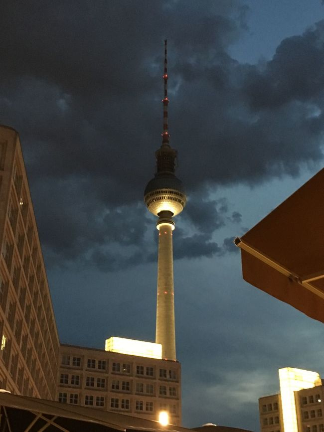 Alexanderplatz Tv Tower Berlin Architecture Built Structure Tower Building Exterior Sky Berlin Photography Ich Bin Ein Berliner Germany 🇩🇪 Deutschland Architectural Feature City Life Skyscraper Tall - High Low Angle View City Communications Tower Travel Destinations Modern Illuminated Cloud - Sky City Life Tall Cloud Famous Place