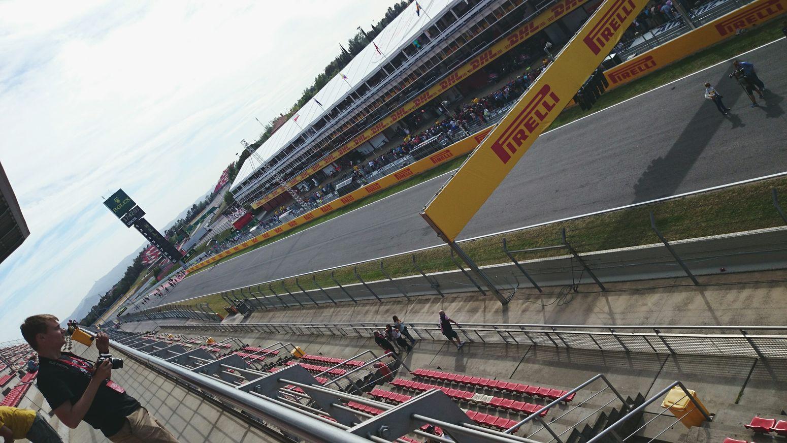 Driver Start Circuit De Catalunya Formula 1 Grand Prix  SPAIN Barcelona Montmeló Driving Race