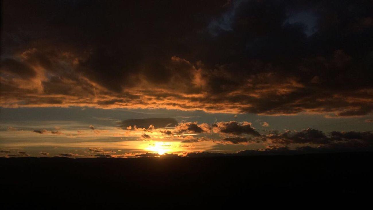 Sunset Nature Sky Beauty In Nature Cloud - Sky No People Sun Outdoors Original Original Photo Original Photography Originalpicture First Eyeem Photo