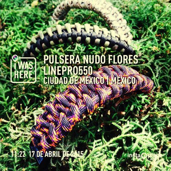 Paracord550 Pulseras Ciudad De México Campismo Militar Excursion Lineadevida Buceo Rapel TRIATHLON