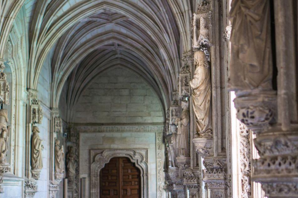 Toledo Monastery España SPAIN Architecture Arch Statue