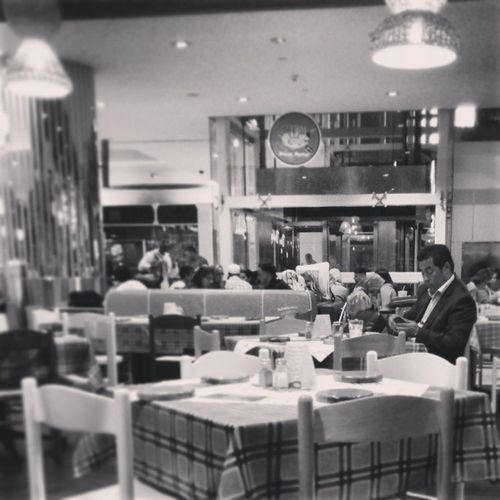 At the Ocean Basket OceanBasket Restaurant in dubai international airport having dinner waiting for my flight to jeddah saudi_Arabia saudi arabia