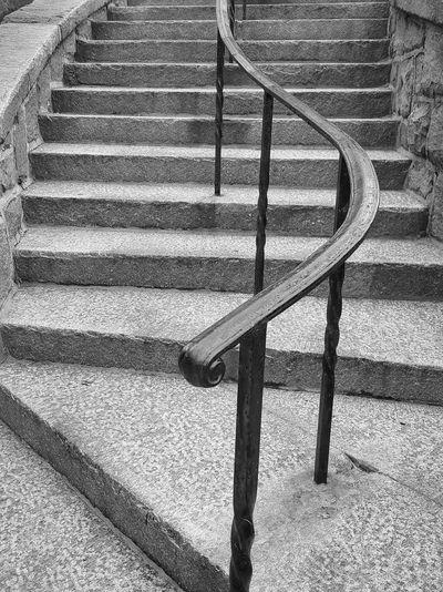 Hand rail, stone works. Metal Architecture Textured  Cht Stone