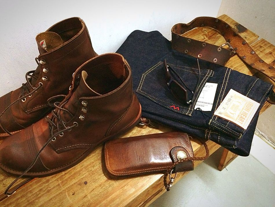 Learn to be perfect Redwing Ironranger8111 Redmoonwallet Ironheart Rawdenime Selvedgedenim