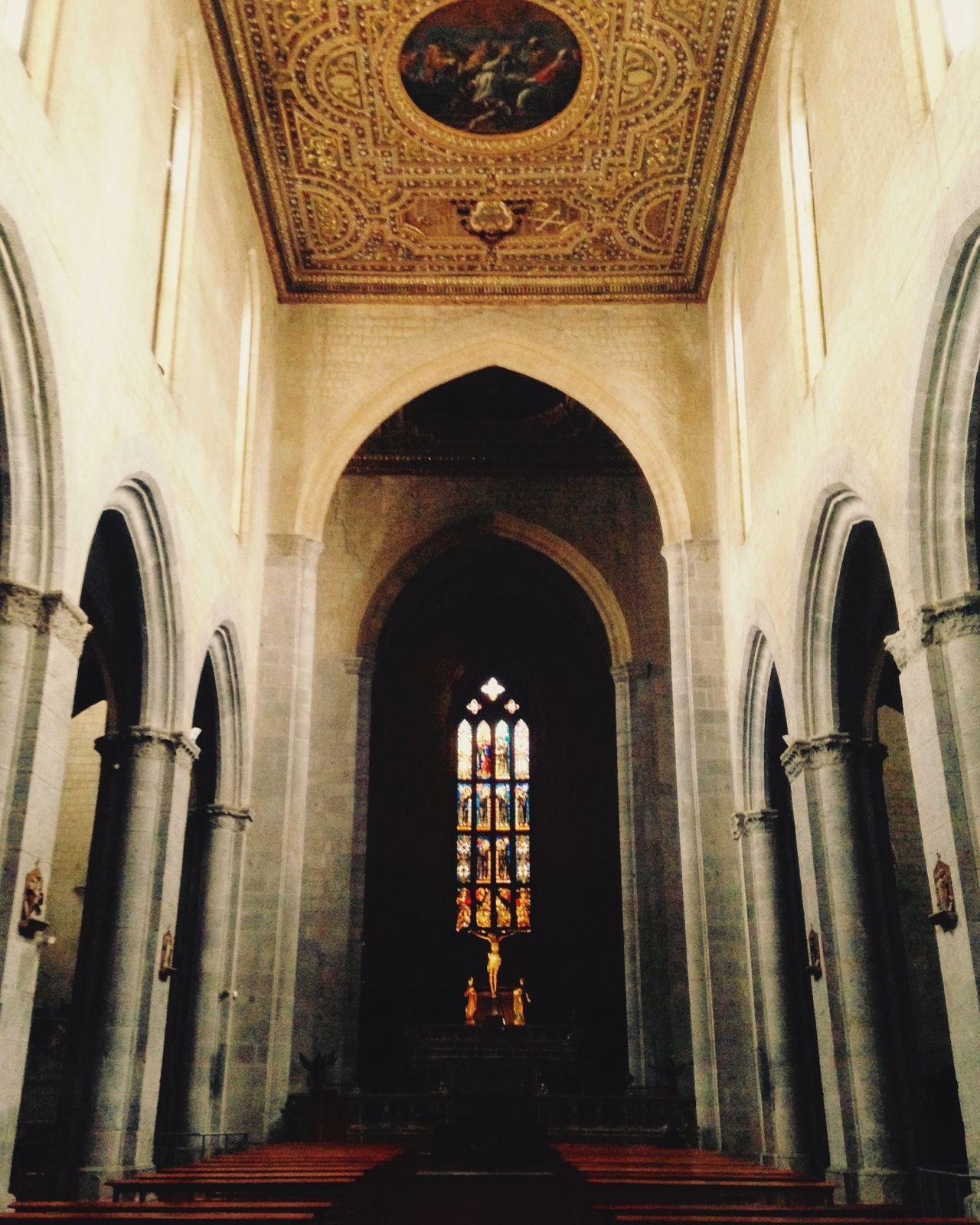 Chiesa di San Pietro a Majella. Arte Architettura Religion Place Of Worship Arch Indoors  Low Angle View Architecture Day Siituristadellatuacittá Naples