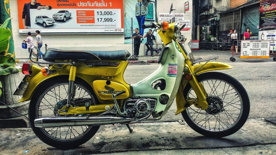 How a lot of the world gets around. Motorbike Showcase: January Songkhla Southern Thailand Outdoors Southeast Asia ASIA Downtown Urban Low Angle Transportation Busy Street Street Photography Hat Yai Songkhla Province Spotted In Thailand