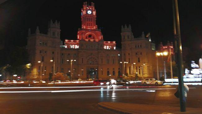 Cibeles Fiestasorgullo Luces De Ciudad City Lights Verano Summer Madrid