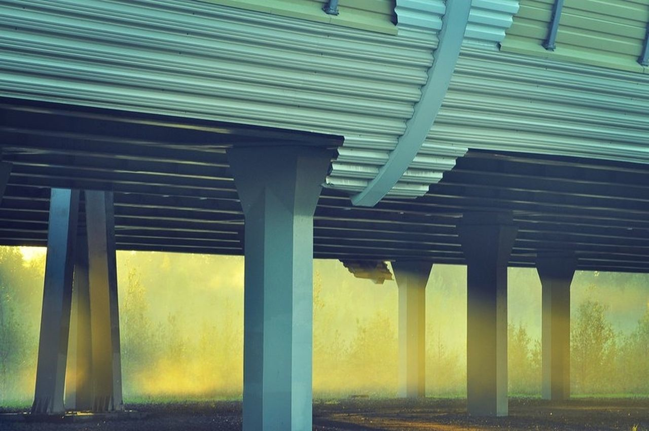 зсд Symmetry Architectural Column Bridge The Architect - 2017 EyeEm Awards