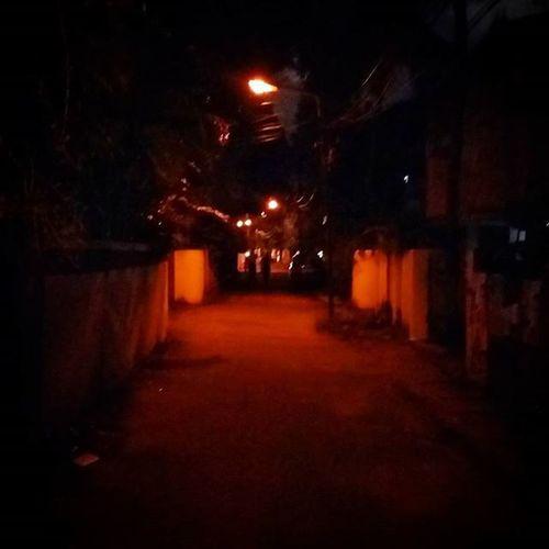 6:30pm oly n strted getting dark! Tohostel Walkwalk AfterClass
