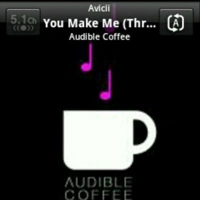 Listening Song Base Music Make me throtle avicii Audible Coffe