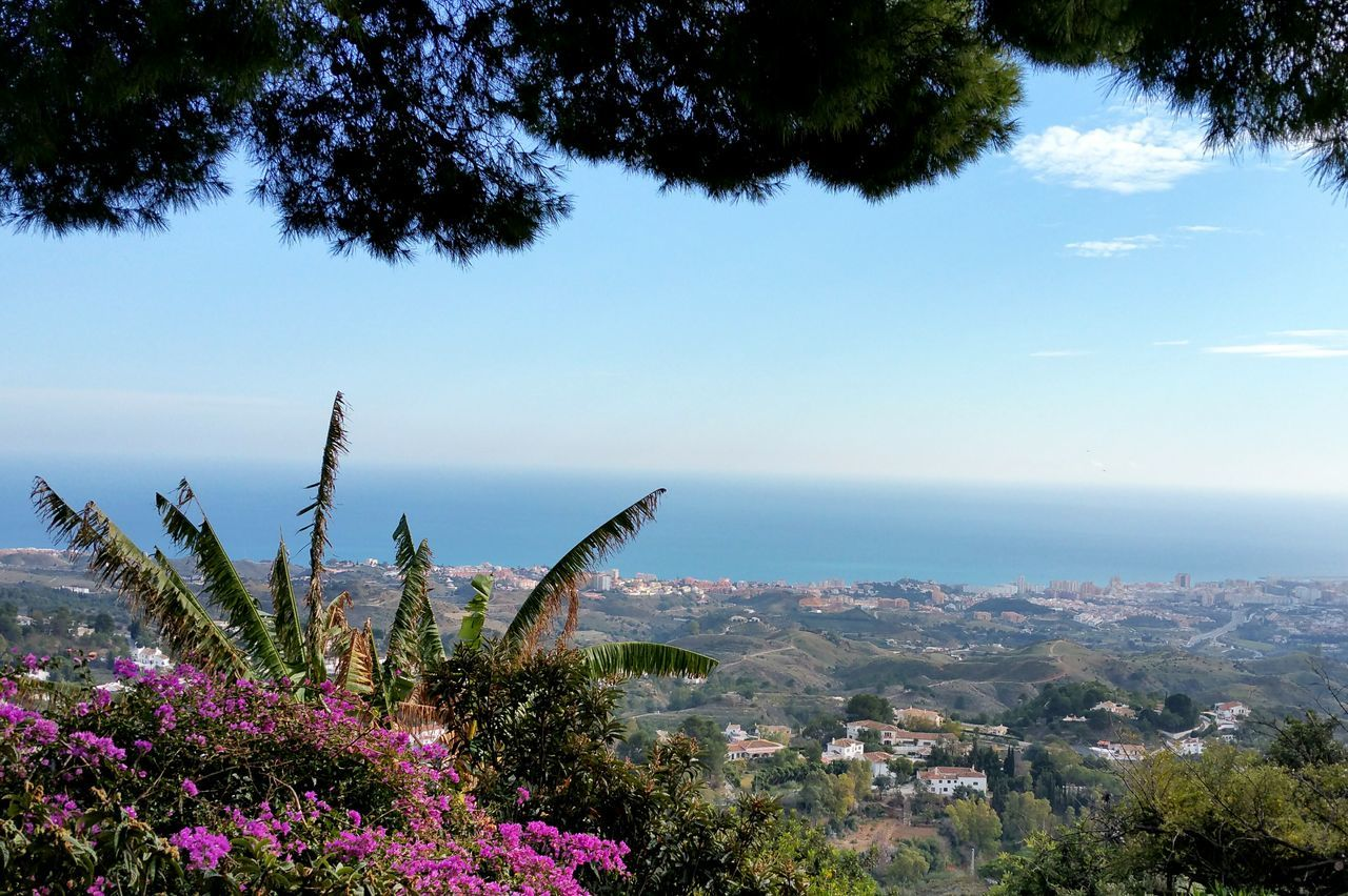 Mijas Mijasvilage Pueblo Mijas Beautiful SPAIN Holiday View Nature Andalusia