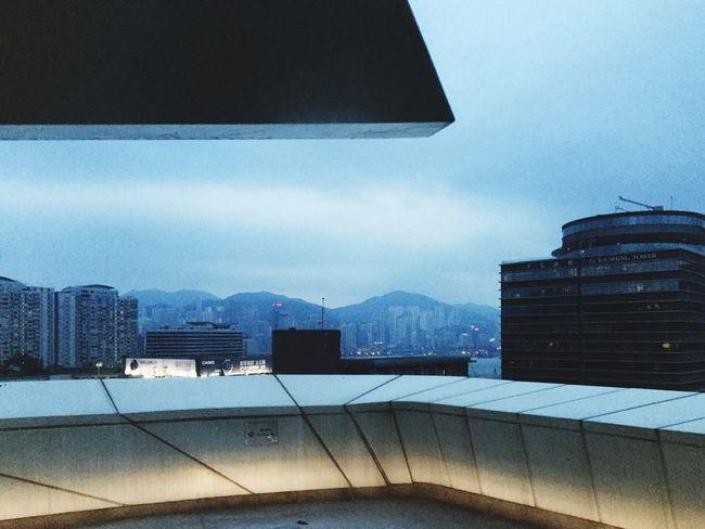 Hong Kong Polyu Zaha Hadid Innovation Tower View Balcony City Architecture