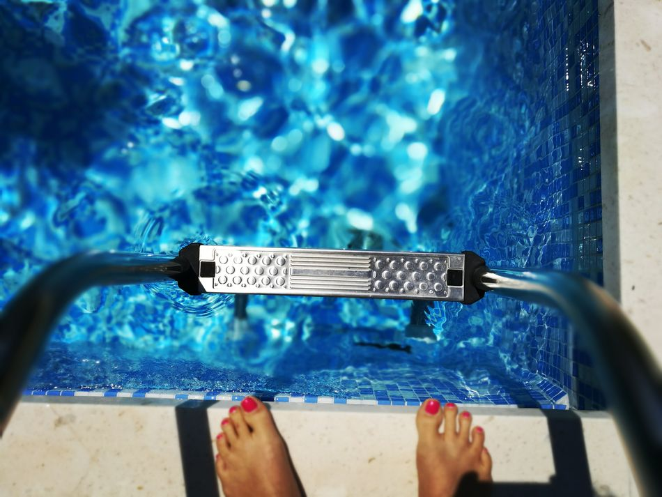 Feet at the edge of the swimming pool with copy space Summer Leisure Healthy Living Healthy Lifestyle Fun Swimming Swimming Pool Water Freedom Tranquility Candid Freshness Refreshment Backgrounds Copy Space Mobilephotography Huawei Honor8 Mobile Photography Horizontal Feet Woman Female Holiday Colorful Relaxing Sommergefühle Neon Life Breathing Space The Week On EyeEm Mix Yourself A Good Time Done That.
