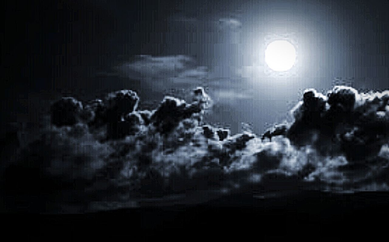 Night Outdoors Sky Moon Dark No People Cloud - Sky Thunderstorm Beauty In Nature Glowing Moonlight EyeEmNewHere Black Scratch Artwork Check This Out Arts Culture And Entertainment Tranquility Backgrounds Planetary Moon Photography Moon Dark Scenics Storm Cloud Nature Astronomy Halloween