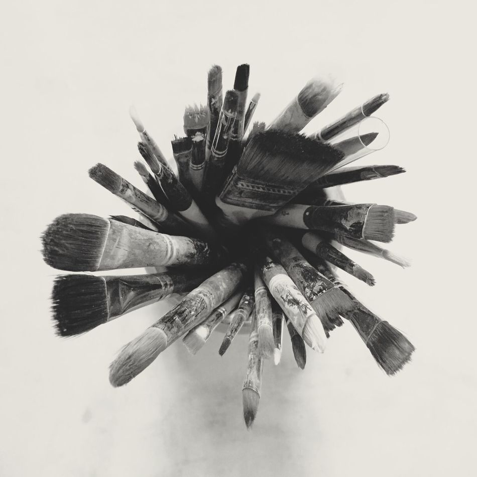 Artist Brushes IPhoneography Iphone 6 Black App Still Life