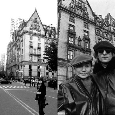 NYC John Lennon Yoko Ono The Dakota