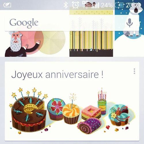 Google Birthday Googler Android