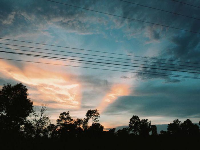 Sunset Sky Snapbyser Beauty In Nature