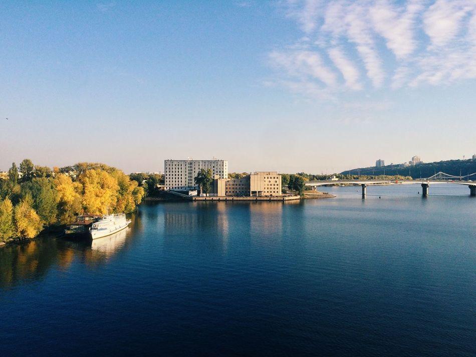 Beautiful stock photos of ukraine, Architecture, Blue, Bridge - Man Made Structure, Building Exterior