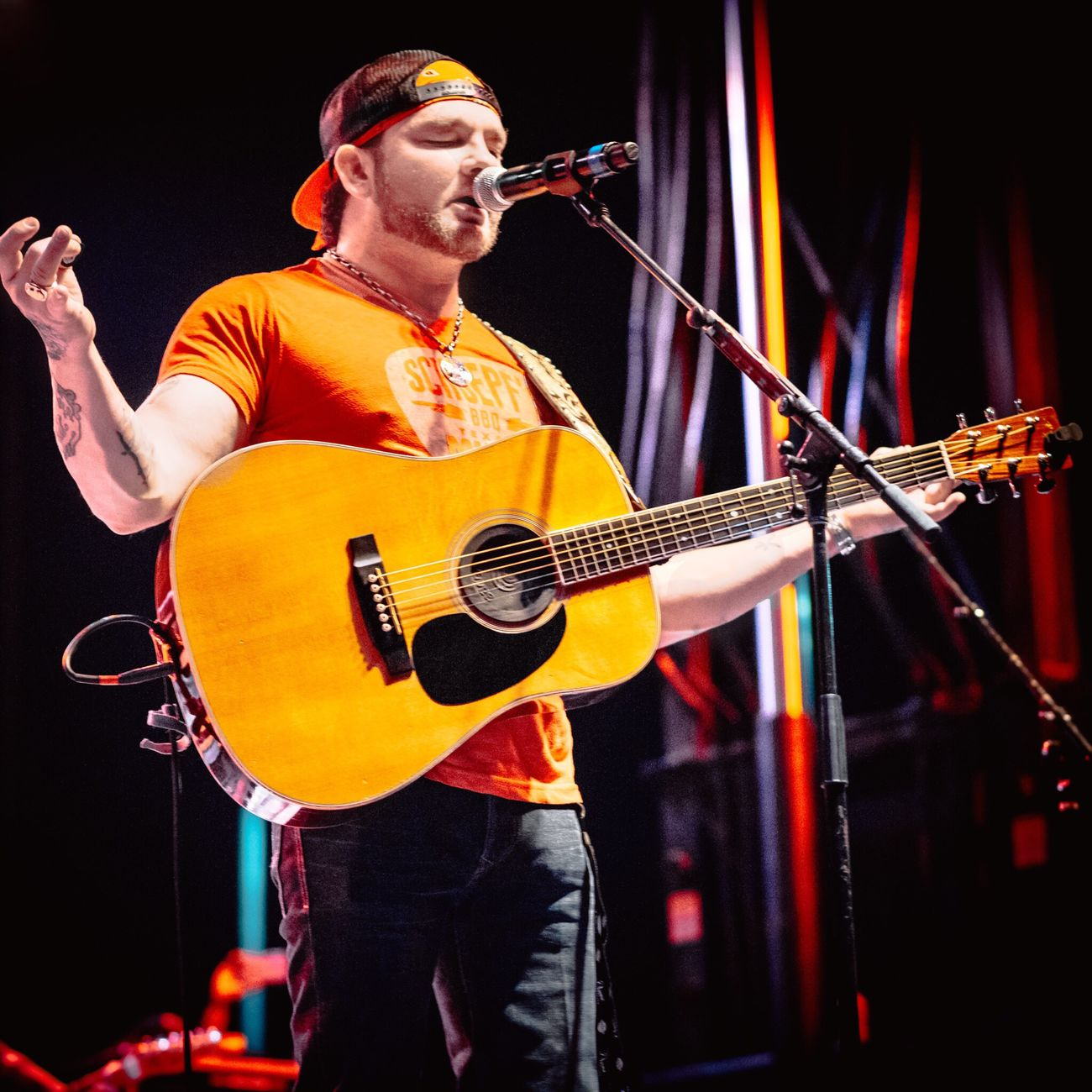 This AMAZING songwriter, Stoney LaRue / Waco, TX 6.4.17 Music Musician Musical Instrument Guitar Playing Guitarist Performance Arts Culture And Entertainment Stage - Performance Space Event Electric Guitar Plucking An Instrument Singing Popular Music Concert Performing Arts Event Singer  Nightlife Men Modern Rock Rock Music Nikon Nikonphotography Nikonphotographer NikonD810