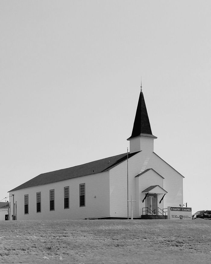 Architecture Built Structure Travel Rural Scene Religion Building Exterior Outdoors Landscape Stark Contrast Minimalism Day No People Church Black And White