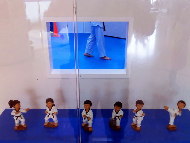 TaeKwondo school in HK Figurines  Healthy Activity Martial Art School Martial Arts Children Taekwondo