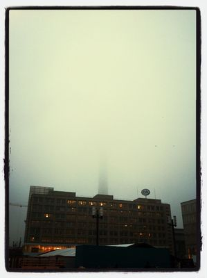 fog at Alexanderplatz by (ke)