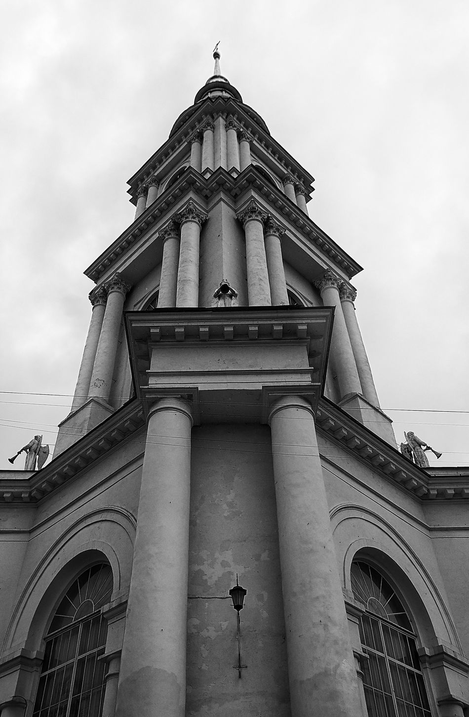 Russia Architecture Low Angle View Black And White Black & White Bw_collection Blackandwhite Blackandwhite Photography Black And White Photography Black&white Blackandwhitephotography Religion Outdoors Day