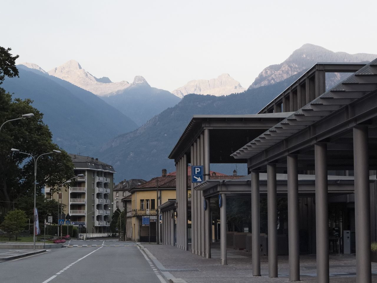 Architecture Beauty In Nature Building Exterior Clear Sky Day Empty Leading Majestic Mountain Mountain Range Nature No People Non-urban Scene Outdoors Physical Geography Remote Road Scenics Solitude The Way Forward Tranquil Scene Tranquility Transportation