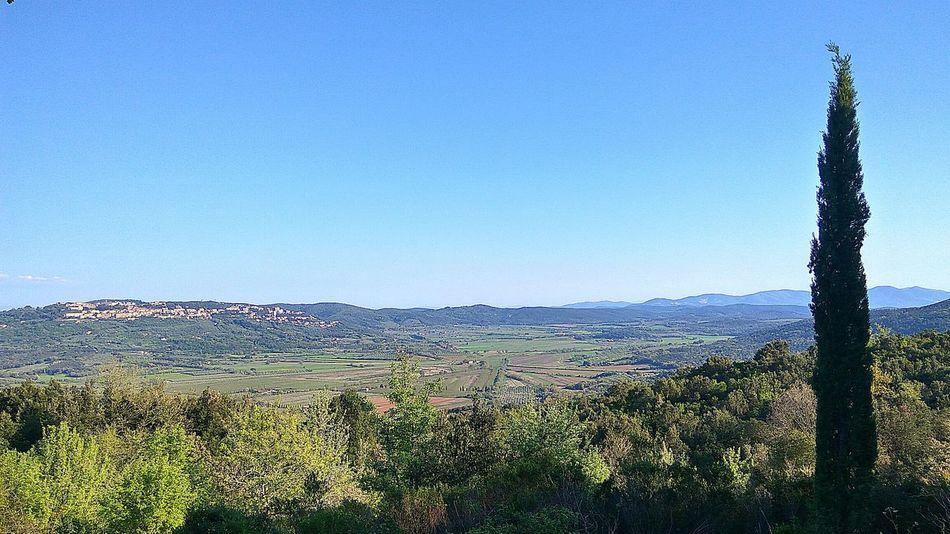 Tuscany Landscape Sunny Day 🌞 Beautiful Exited  Beautiful Day Tuscany View