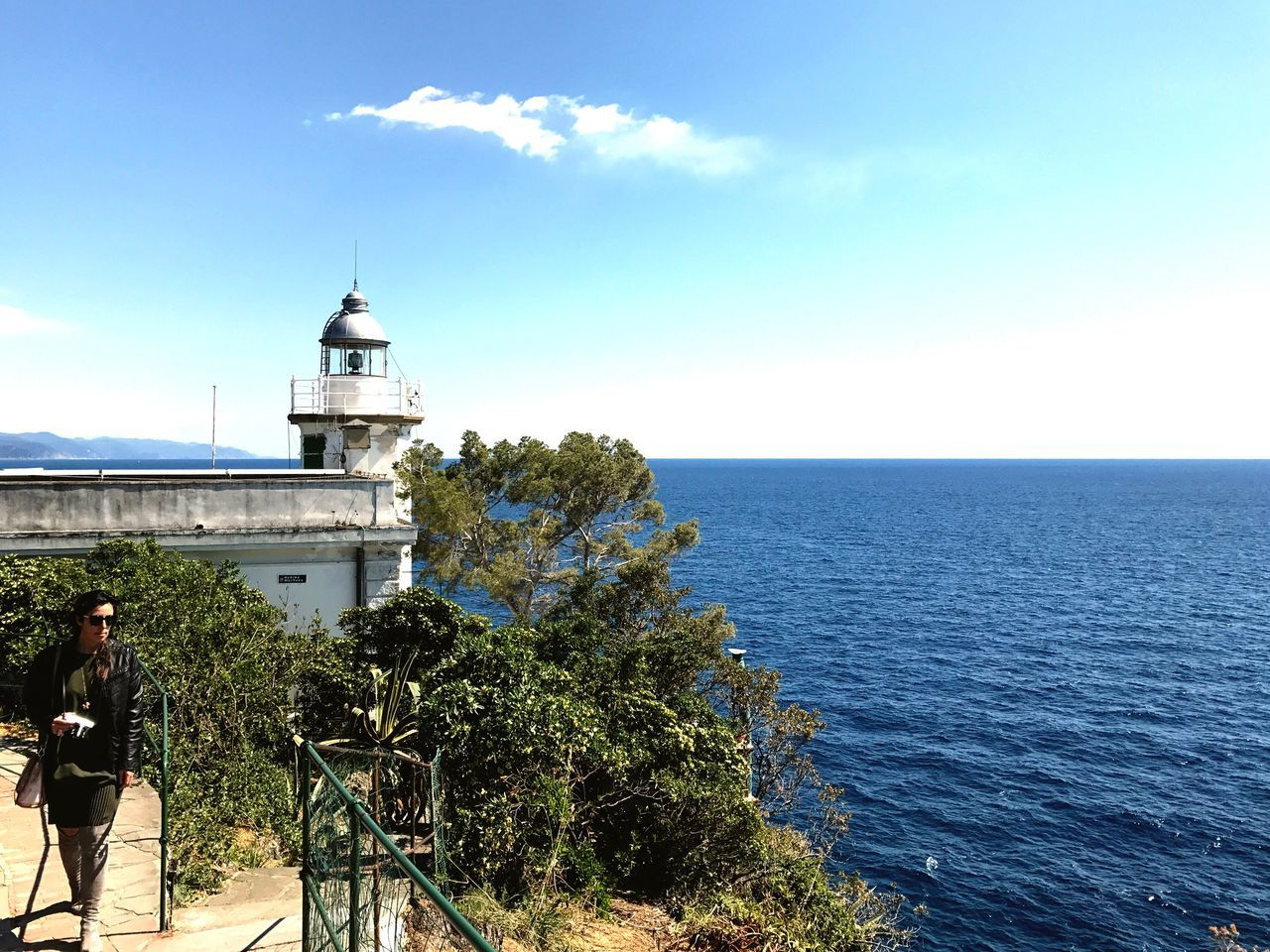 The lighthouse Italy❤️ Italian Riviera Traveling Seascape Nature