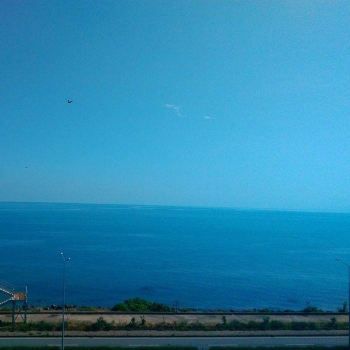 Rize Pazar ilcede guzel gorunen sadece Deniz o kadar... Mavi blue sea nature manzara travel karadeniz