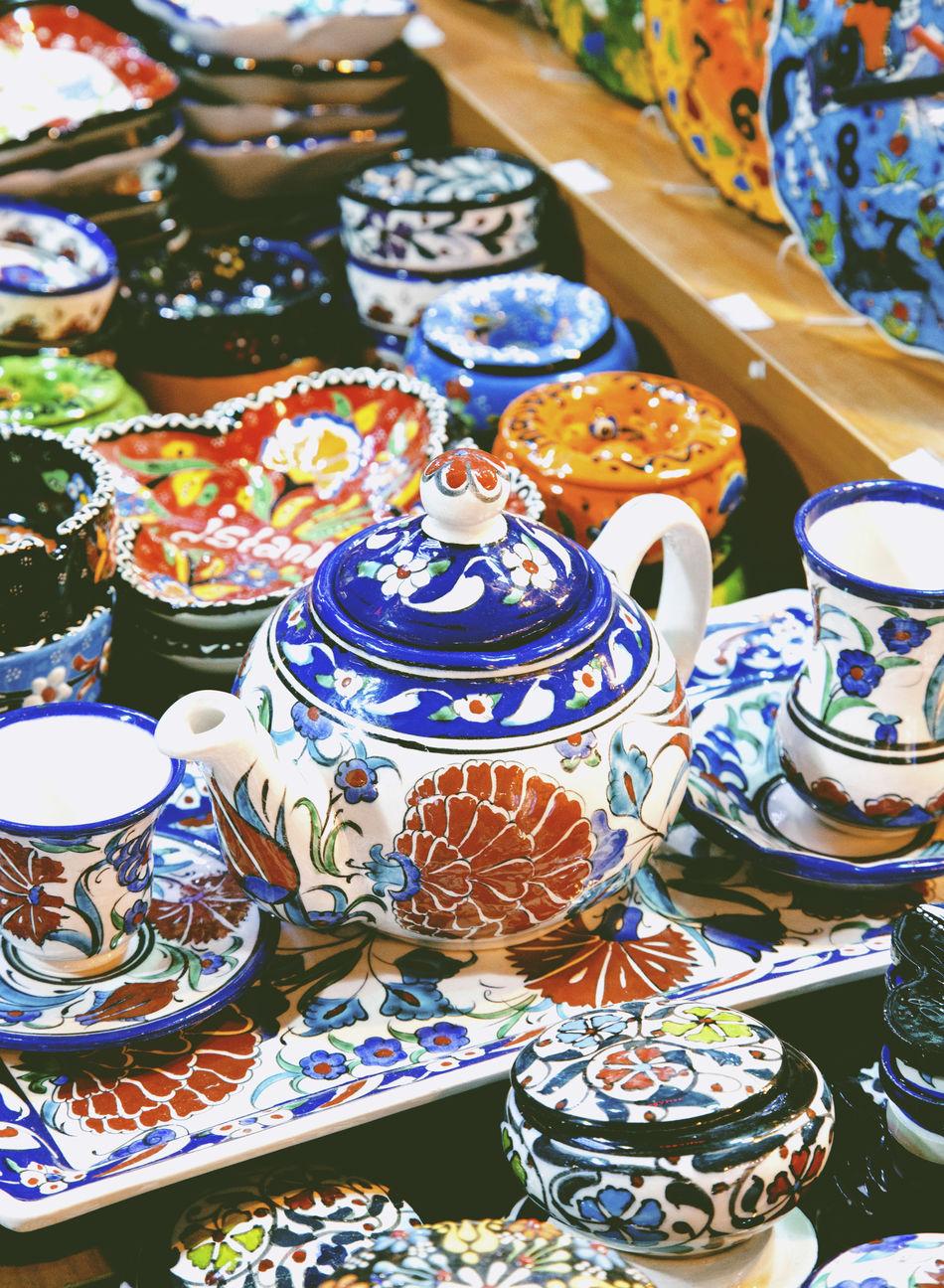 Beautiful stock photos of istanbul, Abundance, Arrangement, Bazaar, Ceramics
