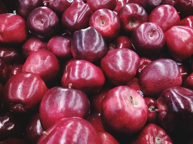A bunch of red apples. Red Apples Produce Fruit Taking Photos Eye4photography  Apples Healthy Red Food Market Grocery Food Shopping Getty X EyeEm Getty Images