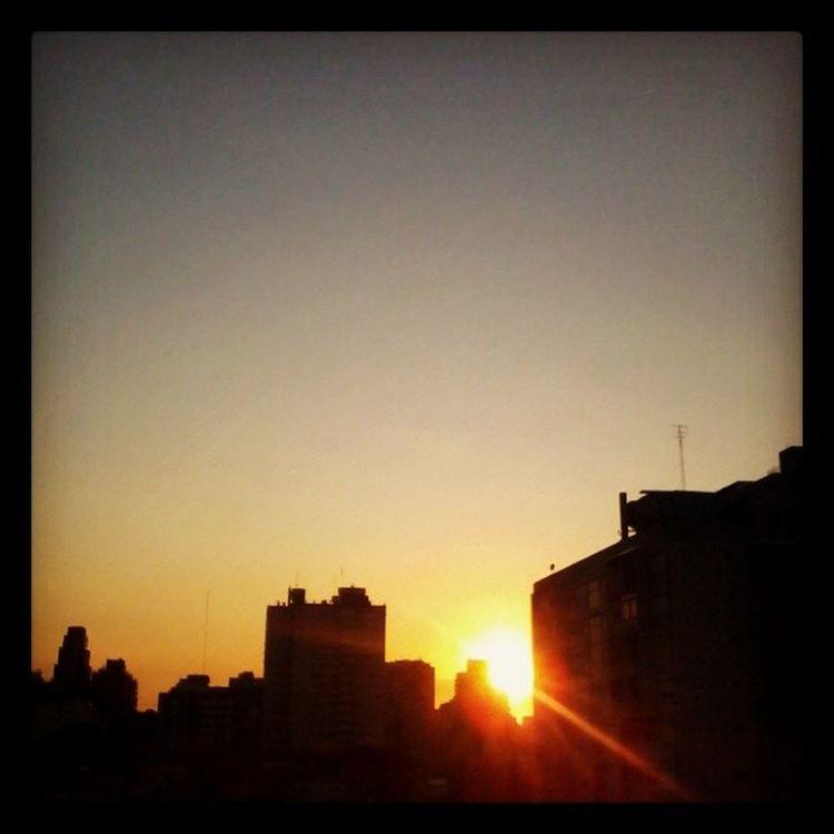 Otoño en Baires Baciudad Vivienbuenosaires 7:45 am Paisaje Paisajeurbano Sun Light