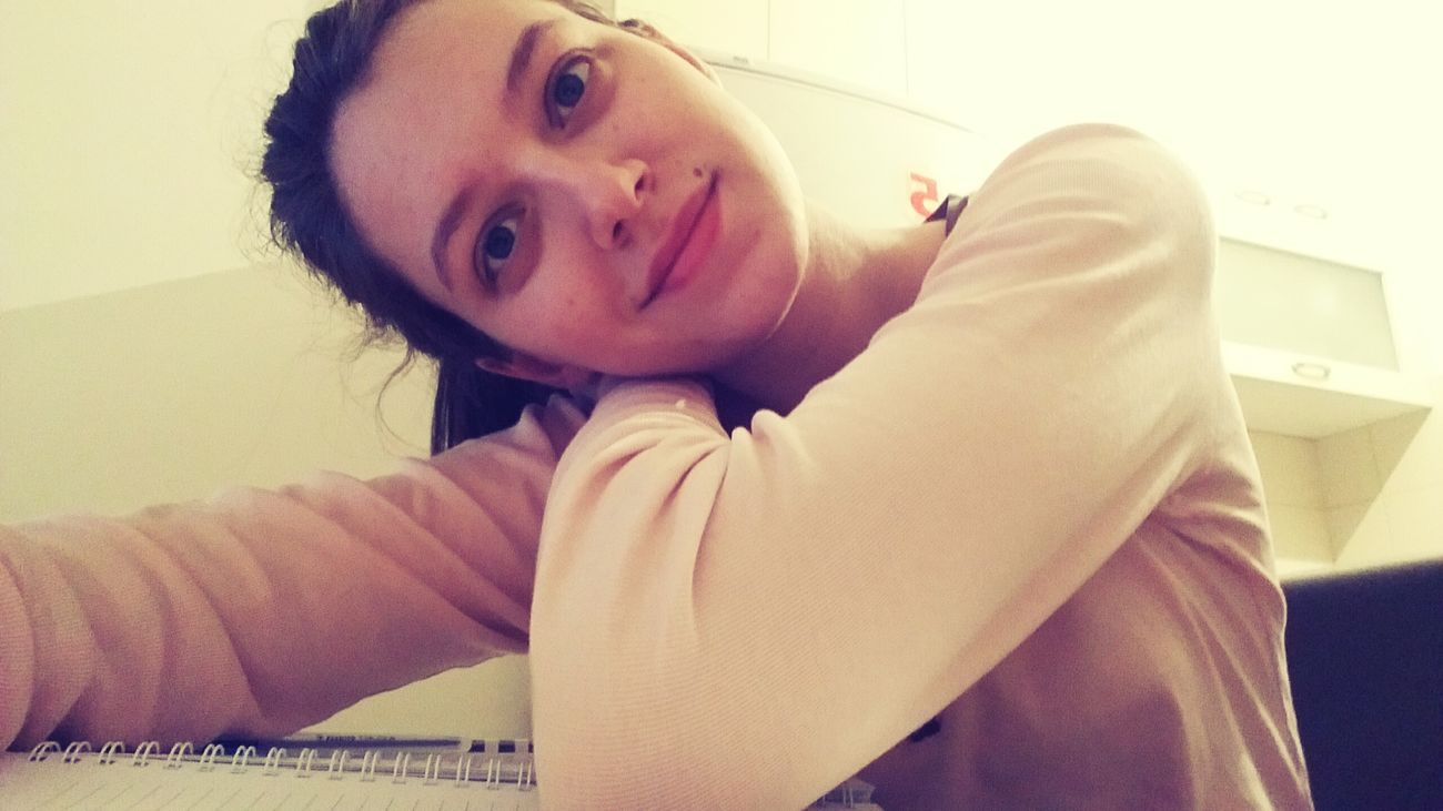 Smile ✌ Studytime Somewere In Belgrade