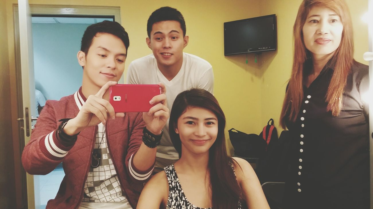 with @shaneanjatarun @iamantoncruz Asap18 Dressingroom