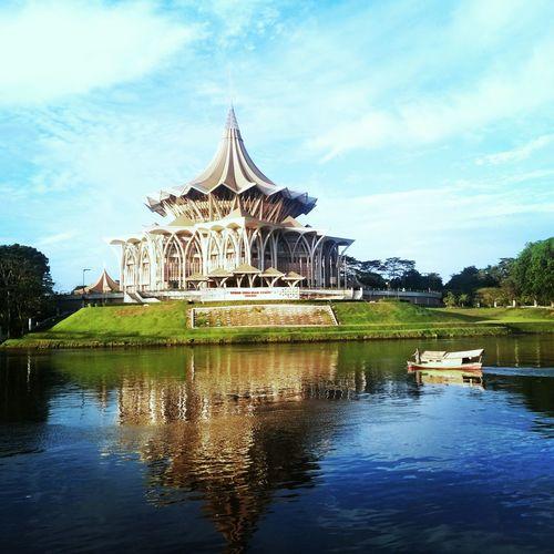 Travel Destinations Built Structure DUN Sarawak Penambang Kuching Wonderful Kuching Kuching Attractions EyeEmNewHere