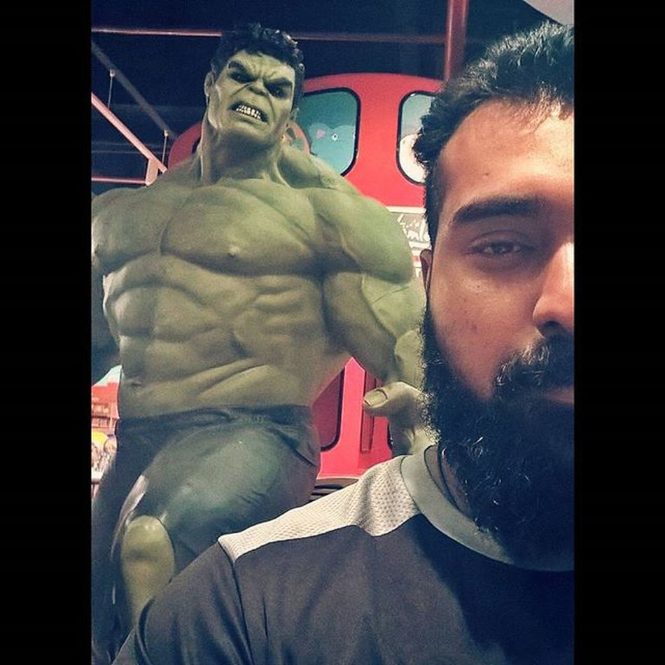 Keep calm Dont make him angry Hulk Hulksmash Hulkfan Marvel Comics Superhero Alwaysangry GreenBeast Hulkmode Beardedvillains Beardedmen Indianbeards Beardedbrownguy Ahd Goa Mycreativity